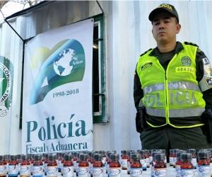 En total la Policía efectuó 25 actas de aprehensión.