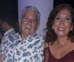 Rafael Castro dirigía el Vocero de la Provincia junto a su esposa.