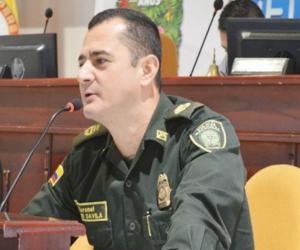 El coronel Fáber Dávila Giraldo.
