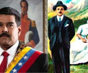Nicolas Maduro y Jose Gregorio Hernandez