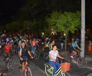 El recorrido comenzará desde el Parque el Agua hasta El Rodadero y luego volverán al punto de partida.