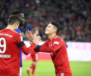 El colombiano estuvo presente en dos de los tres goles que marcó el equipo bávaro.