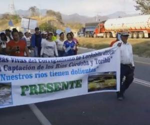 Los líderes se volverán a reunir para seguir protestando ante un proyecto que según ellos perjudica al municipio.