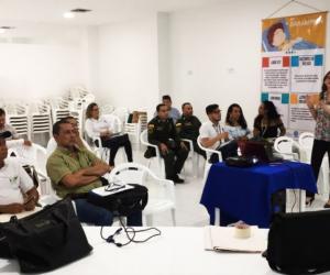 EL evento contó con la participación de 20 personas.
