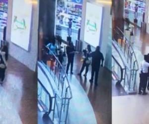 Supuesto caso de escopolamina en el centro comercial Viva, en Barranquilla