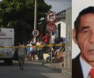 Carlos Angarita Gutiérrez, de 64 años, fue asesinado en el barrio Montes.