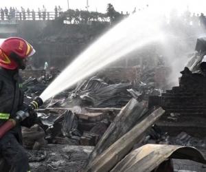 Incendio en bangladesh