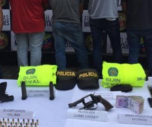 Cuatro policías capturados por presunta extorsión en Buenaventura