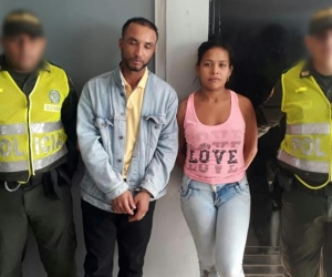 Steven Ricardo Nuñez Escolar y Brenda Patricia Torres Rodríguez.