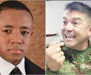 EL MÉDICO HOWARD JIMÉNEZ Y GENERAL, JAIRO LEGUIZAMÓN RIVAS