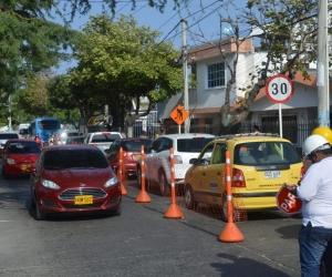 Cierra parcial de la Avenida del Río, entre carreras 5 y 5B