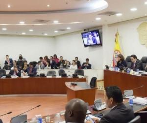 Comisión Primera de la Cámara.