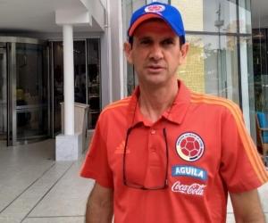 Arturo Reyes, asistente técnico de la Selección Colombia.
