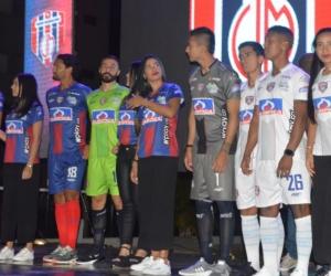 Presentación oficial de los uniformes de competencia del Unión Magdalena.