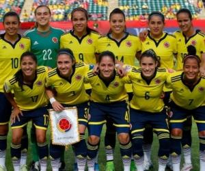 Selección femenina de Colombia.