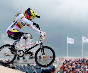 La bicampeona olímpica Mariana Pajón regresó a las pistas en Paipa.