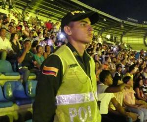 450 hombres de la Policía prestarán seguridad antes, durante y después del partido.