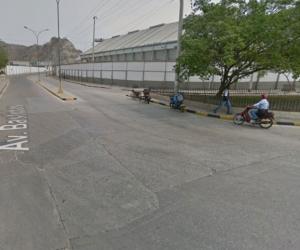Sector del Puerto donde ocurrió el atraco.