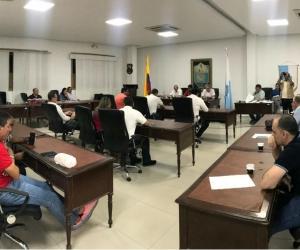 Recinto del Concejo de Santa Marta