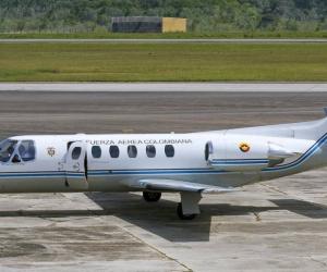 Avión similar al que estaría utilizando Juan Guaidó.