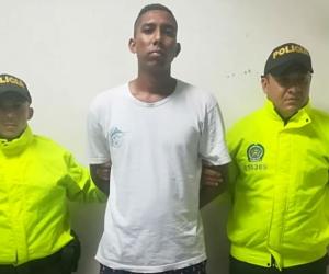 Carlos Fabrianis Torres Ríos, presunto homicida capturado en Pescaíto.