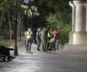Policía y Ejército apoyaron la seguridad durante los días de Carnaval.