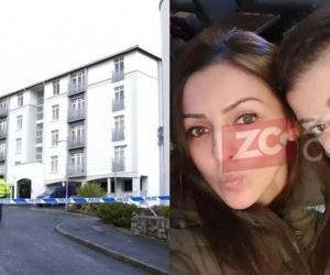 Foto del lugar donde fueron  halladas Irina Marimon y su hija