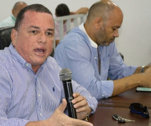 Concejal Jaime Linero, uno de los proponentes.