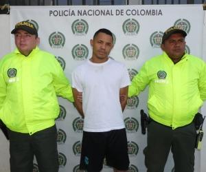 Andrés Javier Ospino Solis, capturado