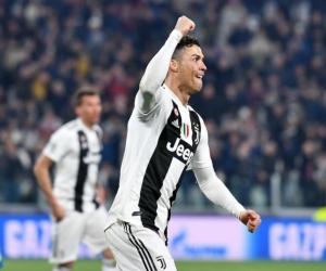 Cristiano Ronaldo ante el Atlético de Madrid