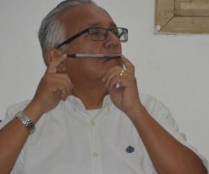 Adolfo Bula, durante la citación en el recinto.