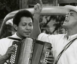 Carlos Vives actuando en 'Escalona'.