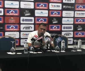 Harold Rivera, técnico del Unión Magdalena.