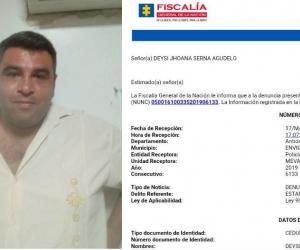 Juan Camilo Londoño López, acusado de robar vehículos