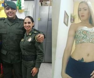 Edilberto Ortiz Correa y su ex pareja