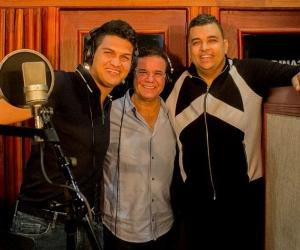 Elder Dayán Díaz, Iván Villazón y Rolando Ochoa