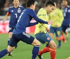 El delantero samario marcó el primer gol en la nueva era de un DT en la Selección.