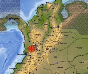 El temblor fue sentido en el centro del país.