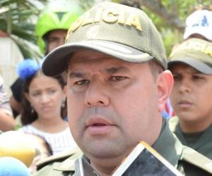 El comandante operativo de la Policía Metropolitana de Barranquilla, coronel Yecid Peña.