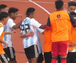 Triunfo de los argentinos