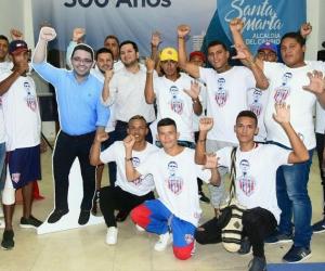 Miembros de la Garra Samaria.