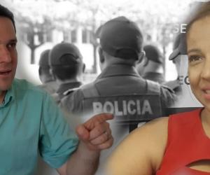 En radio se dio el debate entre Camilo George, secretario de Seguridad, y Norma Vera, secretaria de Gobierno.