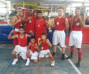 Siete deportistas sacarán la cara por el boxeo del Magdalena