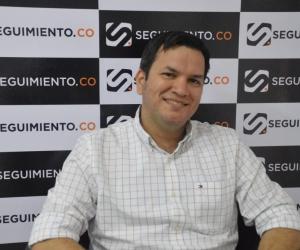 El alcalde encargado de Santa Marta, Adolfo Torné.