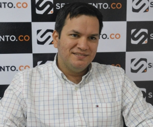 Adolfo Torné, alcalde encargado de Santa Marta.