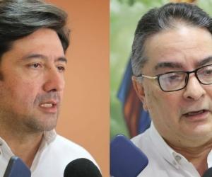 Fabián Castillo y Hernando Guida.