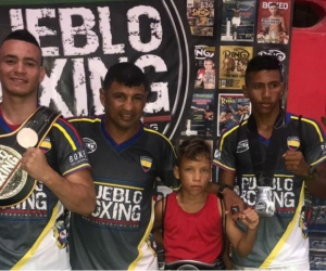 Buena presentación de los boxeadores samarios en el cuadrilátero barranquillero.