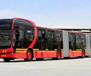 Bus electrico de la compañia BYD