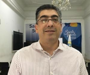 El contralor delegado para el sector social, Julio César Cárdenas Uribe.