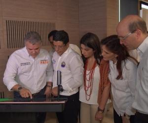 El Presidente Duque fue el invitado especial junto a la Ministra de Educación para el estreno de uno nuevo espacio educativo de la Unimagdalena.